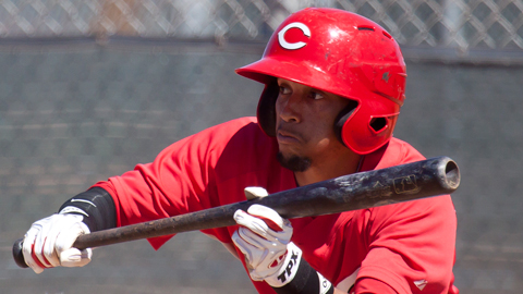 Billy Hamilton will be looking to steal more than 100 bases again in 2012.